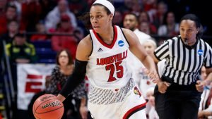 Asia Durr continues to power the Cardinals to a scorching start. Photo courtesy of Louisville Athletics.