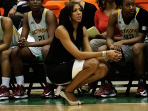 Vanessa Blair-Lewis is in her eleventh year coaching at Bethune-Cookman University, and her 20th overall as a head coach. Photo courtesy of Bethune-Cookman Athletics.