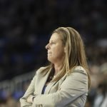 UCLA coach Cori Close. Maria Noble/WomensHoopsWorld.