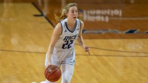Nicole Iademarco is the Owl's second-leading scorer. Photo by Maria Lysaker/Rice Athletics.