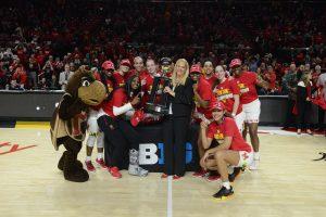 Maryland claimed the Big Ten regular-season title last weekend. Photo courtesy of Maryland Athletics.