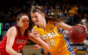 Maci Miller. Photo courtesy of South Dakota State Athletics.