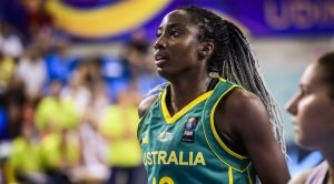 Ezi Magbegor. Photo courtesy of FIBA Basketball.
