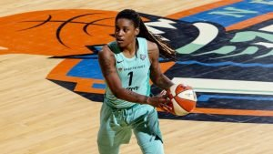 Shavonte Zellous. Photo courtesy of New York Liberty.