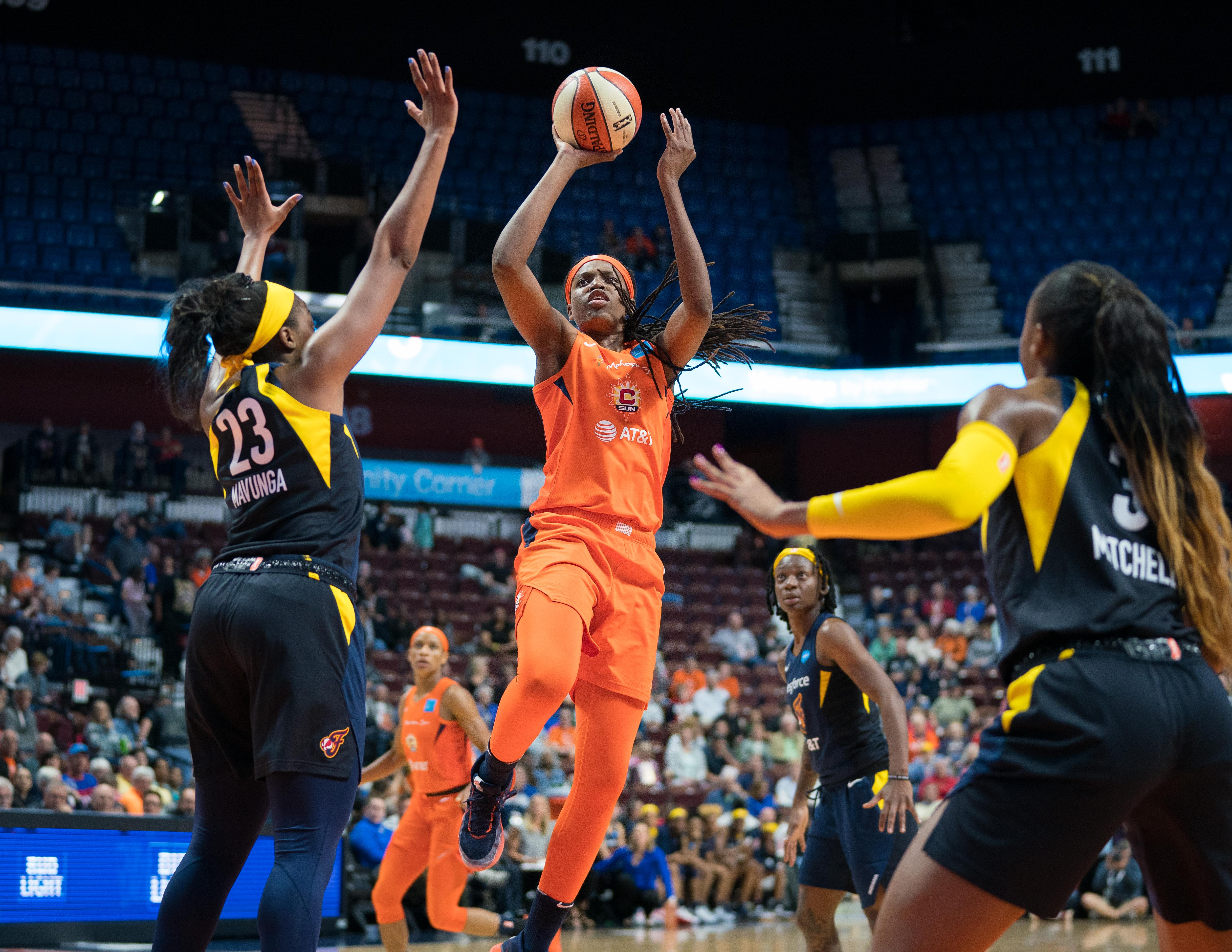 MVP candidate Jonquel Jones talks growth, experience and life lessons