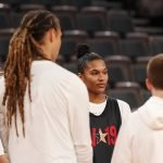 Friday, July 26, 2019 - Practice and media availability during the WNBA All-Star Weekend at Mandalay Bay in Las Vegas, NV. (Maria Noble)