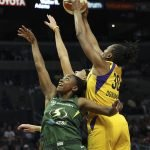 Jewell Loyd, Nneka Ogwumike. Maria Noble/WomensHoopsWorld