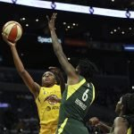 Nneka Ogwumike, Natasha Howard. Maria Noble/WomensHoopsWorld