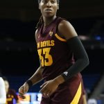 Ja'Tavia Tapley transferred to Arizona State last year from USC. Maria Noble/WomensHoopsWorld.