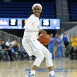 Senior point guard Japreece Dean. Maria Noble/WomensHoopsWorld.