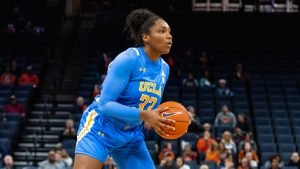 Lauryn Miller is the only Bruin to have started all 20 games this season. Photo courtesy of UCLA Athletics.