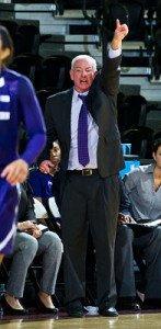 Northwestern coach Joe McKeown. Photo by Stephen Carrera, Northwestern Athletics.