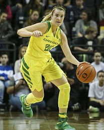 Sabrina Ionescu has had an NCAA-leading four triple-doubles this year as a freshman. Samuel Marshall/Eric Evans Photography.