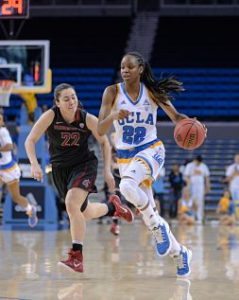 Kennedy Burke stepped up to score 17 points for the Bruins. Photo by Zyaire Porter/T.G.Sportstv1.