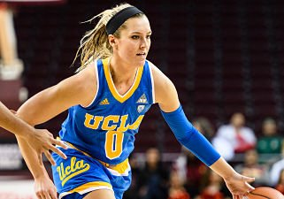 Nicole Kornet transferred from Oklahoma to play her final year of eligibility at UCLA. Photo by Percy Anderson.