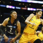 Candace Parker spies a rebound. Photo by Maria Noble/WomensHoopsWorld.