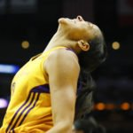 Candace Parker is pleased after scoring. Photo by Maria Noble/WomensHoopsWorld.