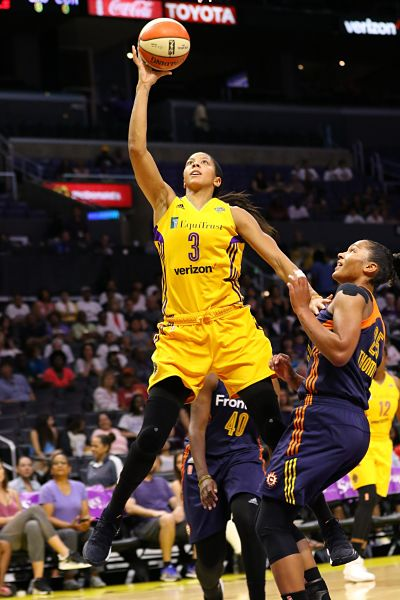 Candace Parker declined the invitation to participate in training camp for the Women's National Team, her agent said. Photo courtesy of TGTVSports1.