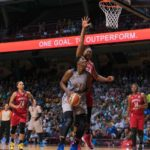 Sylvia Fowles sizes up the shot. Photo by Brian Few Jr./TGSportsTV1.