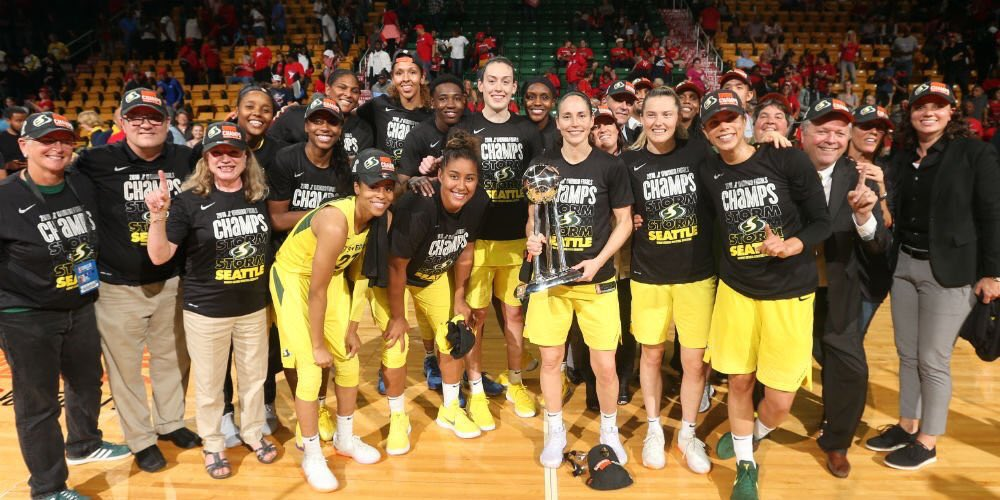 Seattle Storm started from the bottom, and now they're up there | Women's Hoops World