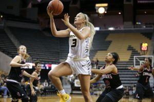 Sophie Cunningham. Zach Bland/Mizzou Athletics.