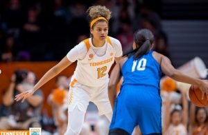Rae Burrell. Photo courtesy of Tennessee Athletics.