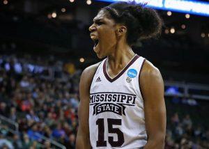 Teaira McCowan has been an efficient scorer for Mississippi State. SEC photo.