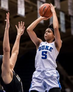 Leaonna Odom. Photo courtesy of Duke athletics.