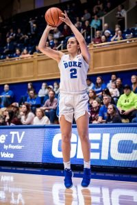 Haley Gorecki. Photo courtesy of Duke Athletics.