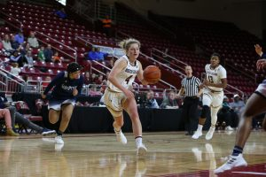 Junior guard Taylor Ortlepp. Photo courtesy of Boston College Athletics.