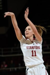 Alanna Smith has been a leader and a presence in the paint for Stanford. Don Feria/ISIPhotos.com.