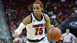 Asia Durr. Photo courtesy of Louisville Athletics.