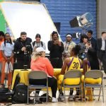 Tuesday, May 14, 2019 - Nneka Ogwumike and Chiney Ogwumike attend the Los Angeles Sparks Media Day in Los Angeles, California. (Maria Noble/WomensHoopsWorld).