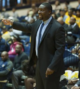 North Carolina A&T coach Tarrell Robinson enters his eighth season at the helm of women's basketball at his alma mater. Photo courtesy of NC A&T Athletics.