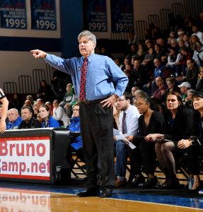 Doug Bruno turned DePaul into an elite power soon after he returned in 1988. Photo courtesy of DePaul Athletics.
