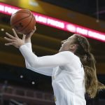 Chantel Horvat makes a layup. Maria Noble/WomensHoopsWorld.