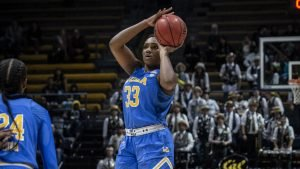 Lauryn Miller says her confidence is growing in her junior year. Photo courtesy of UCLA Athletics.