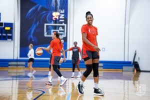Monique Billings enters her third WNBA season with a maturity and focus that is beyond her years. Photo courtesy of Atlanta Dream.