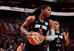 Reshanda Gray was a key reserve for the New York Liberty last season. Photo courtesy of New York Liberty.