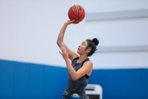Natalie Chou is excited to be back for her senior season. UCLA Athletics photo.